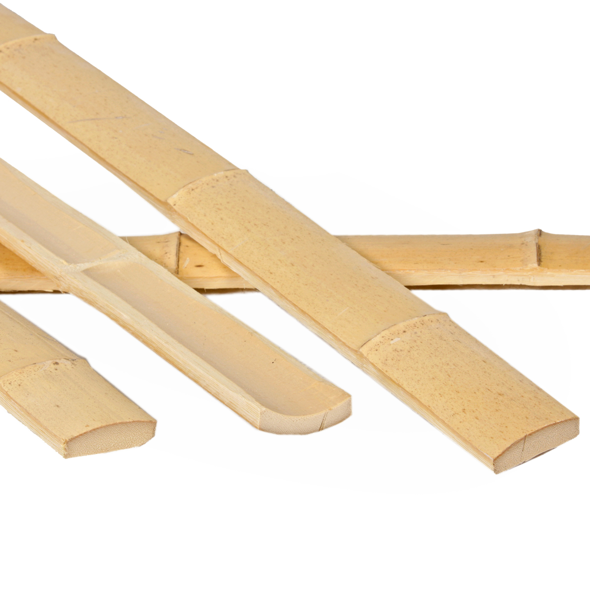 45mm Natural Moso Bamboo Slats x 2 4 metres (1 8in x 7ft10)