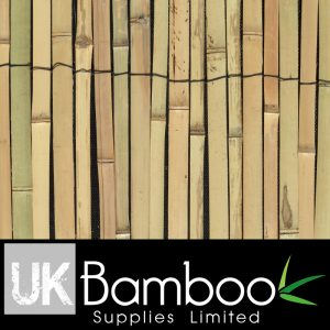 20/25mm Heavy Duty Split Bamboo Screen x 2 metres (1in x 6ft7)
