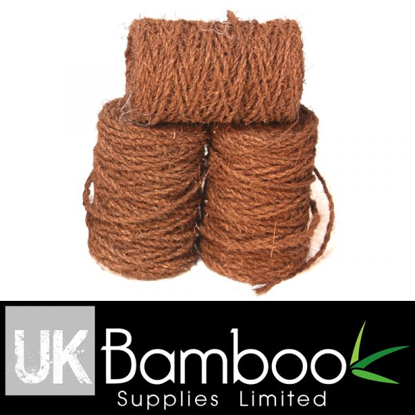 3mm Brown Palm Fibre Twine x 50 metres (160ft)