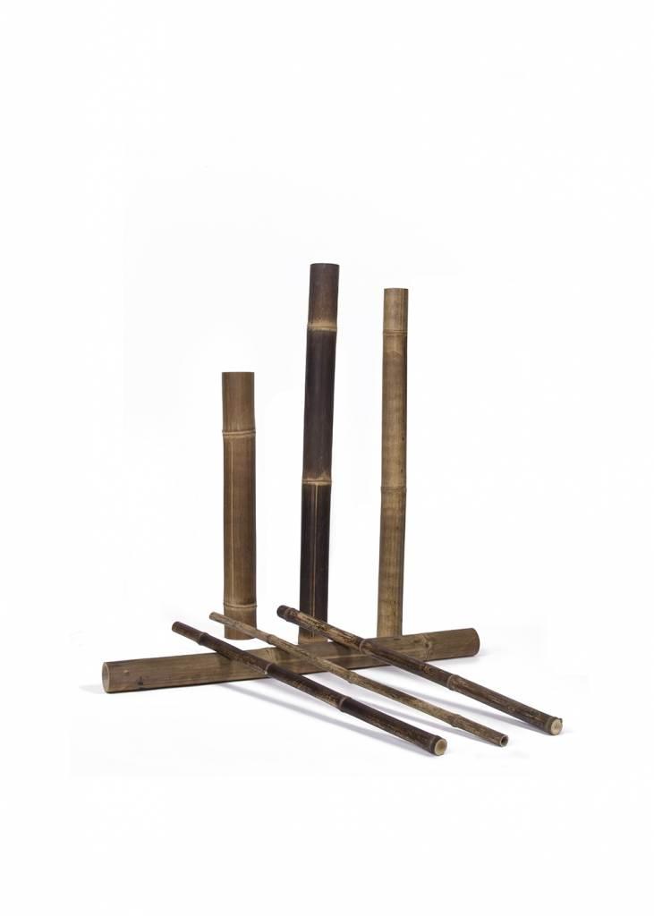 Black Bamboo Poles ~ Natural black poles bamboo