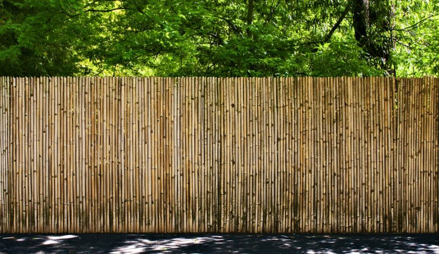Bamboo fencing and screens bamboo for Barda de madera para jardin