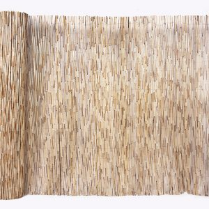 bamboo thatch unrolled