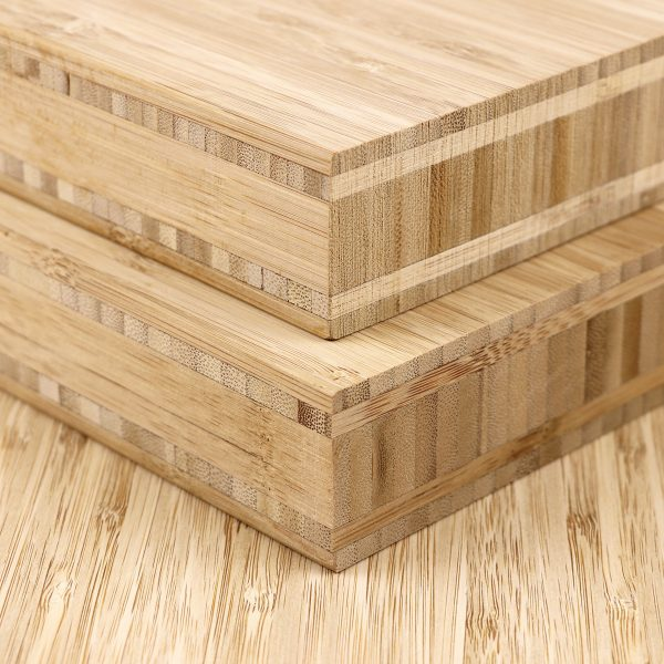 40mm thick bamboo board side profile
