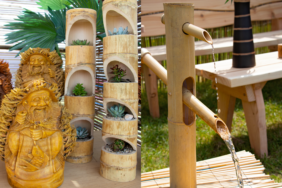 UK Bamboo supplies - Garden Design Trends for 2019