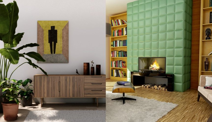 feature wall spaces