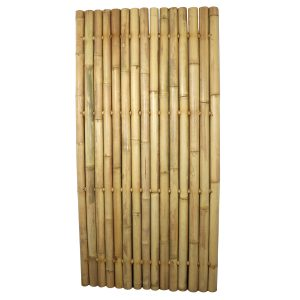 Bamboo Whole Pole Fence Tali