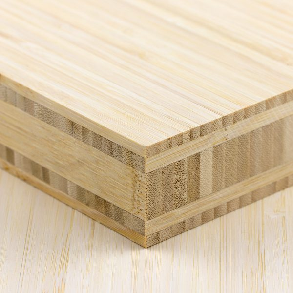 side profile of a 40mm natural bamboo board