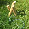 bamboo deer scarer water feature inlet pipe from behind
