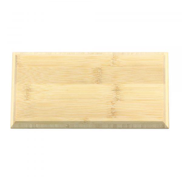 single bamboo brick tile natural colour