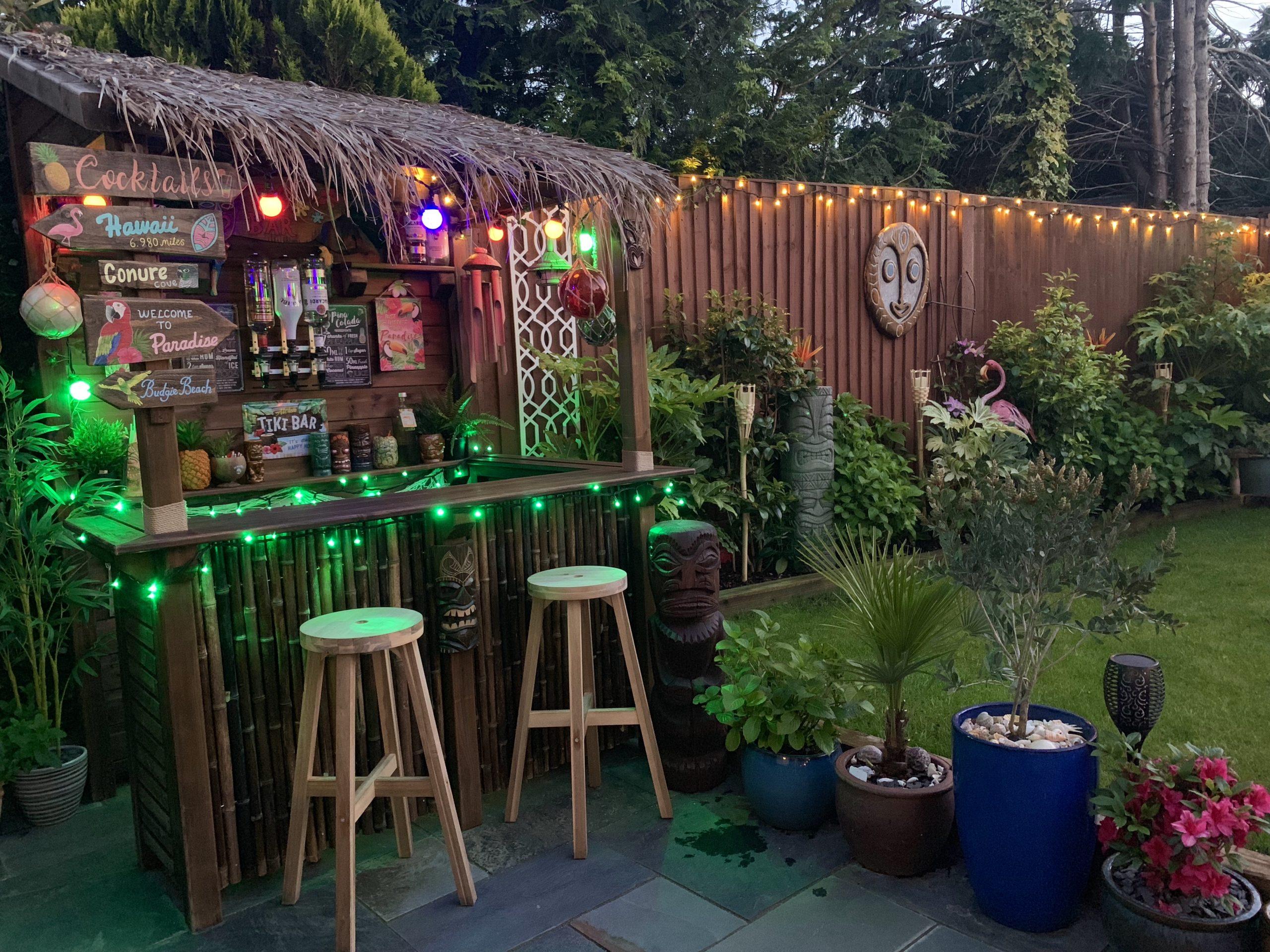 UK Bamboo supplies - Creating your Bamboo Tiki Bar this summer!
